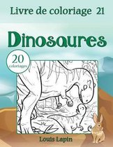 Livre de coloriage dinosaures