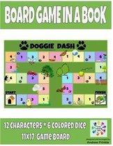 Board Game in a Book - Doggie Dash