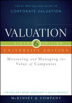 Valuation, University Edition, Sixth Edition