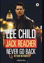Omslag Jack Reacher Never go back (Retour interdit)