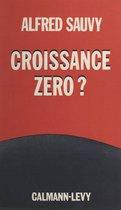 Croissance zéro ?