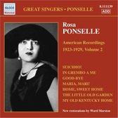 Ponselle: American Rec. Vol.2