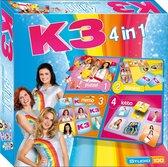 K3 spel 4 in 1 - Bordspel