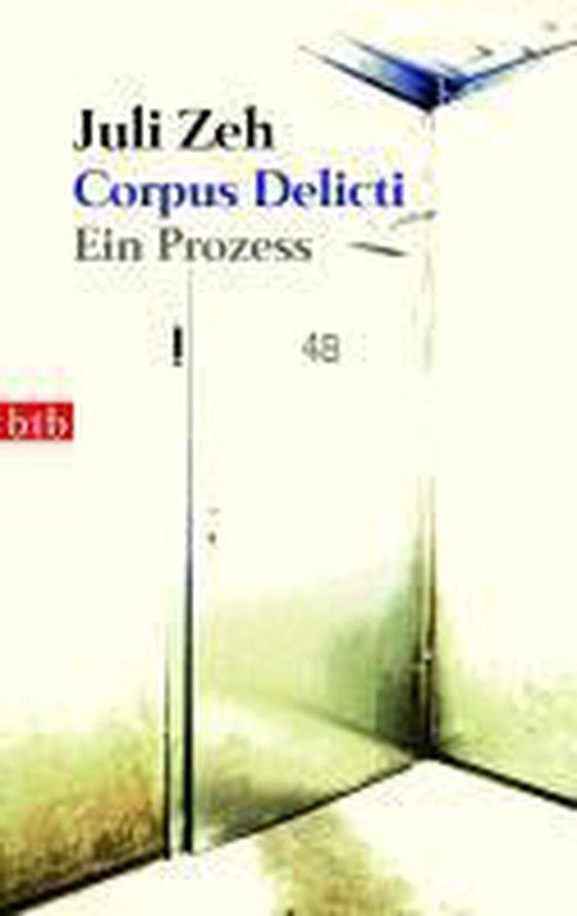 Boek cover Corpus delicti van Juli Zeh (Paperback)