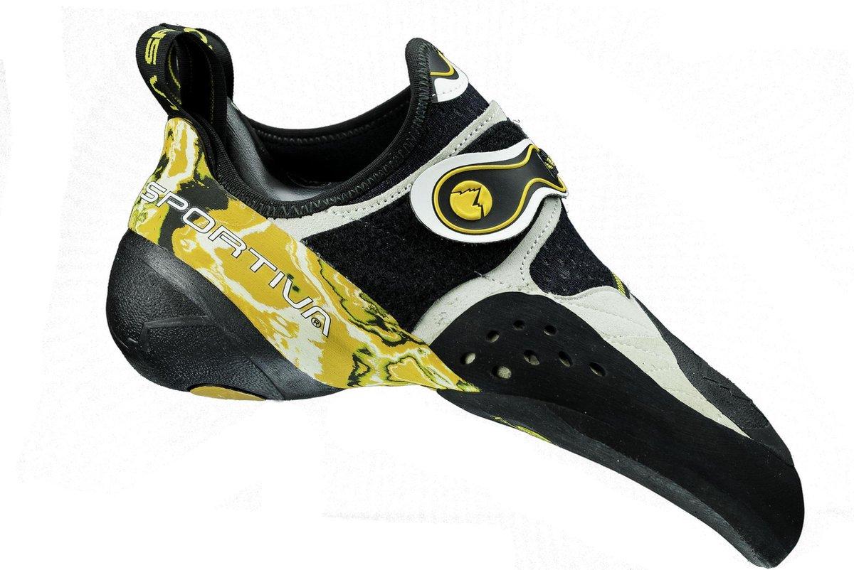 La Sportiva Solution - Klimschoenen - Volwassenen - 43.5 - Geel - La Sportiva
