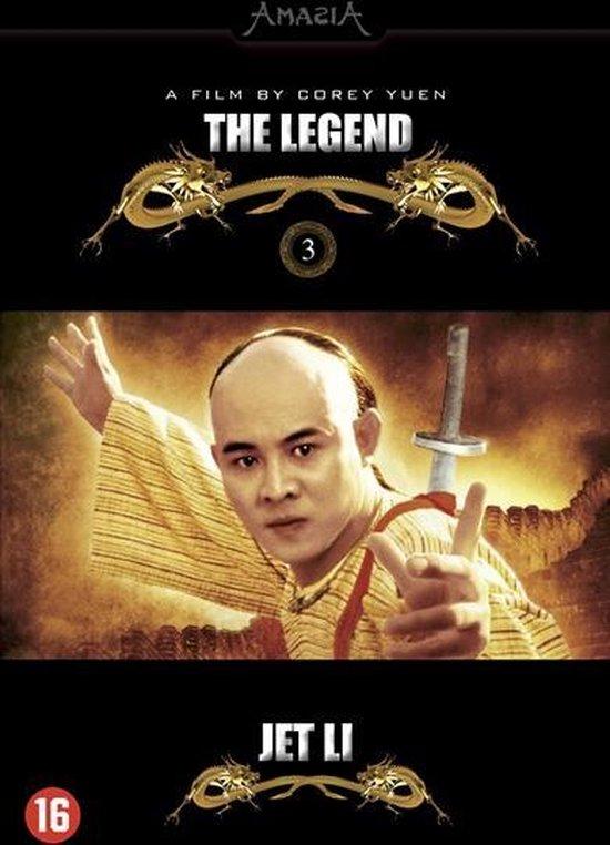 Cover van de film 'Jet Li Collection - The Legend'