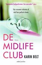 Boek cover De midlifeclub van Karin Belt (Onbekend)