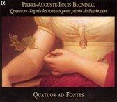 Quatuor D Apres Les Sonates Piano De Bee