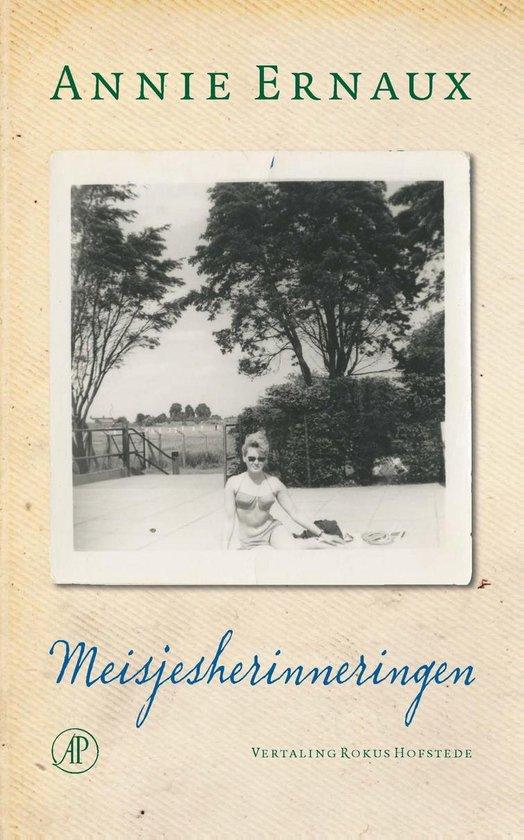 Boek cover Meisjesherinneringen van Annie Ernaux (Onbekend)