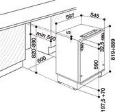 Whirlpool ARZ 005/A+ Inbouwkoelkast