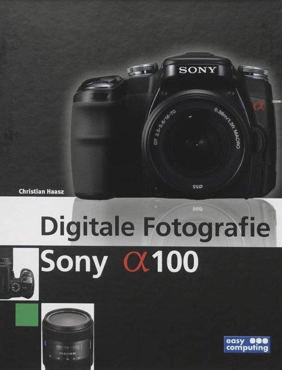 Cover van het boek 'Digitale FotografieSony Alpha 100'