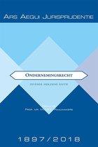 Boek cover Ars Aequi Jurisprudentie - Ondernemingsrecht 1897-2018 van Ger van der Sangen (Paperback)