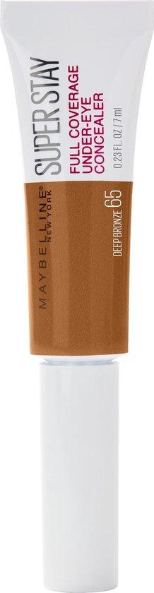 Maybelline SuperStay Under Eye Concealer – 65 Deep Brown – Matte Finish