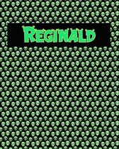 120 Page Handwriting Practice Book with Green Alien Cover Reginald