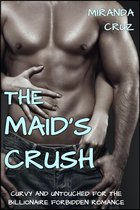 EROTICA: The Maid's Crush (Curvy and Untouched for the Billionaire Forbidden Romance)