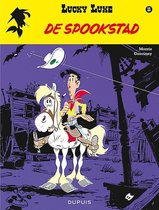 Boek cover Lucky luke 25. de spookstad van Morris
