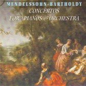 Mendelssohn Bartholdy - Concertos for 2 piano's & orchestra