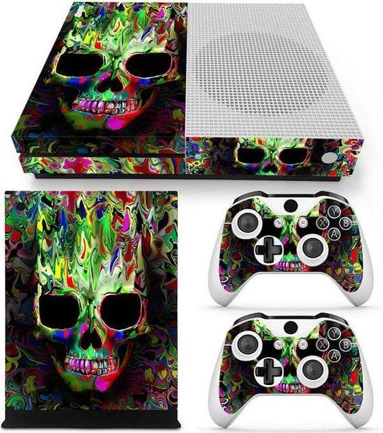 Color Skull – Xbox One S skin