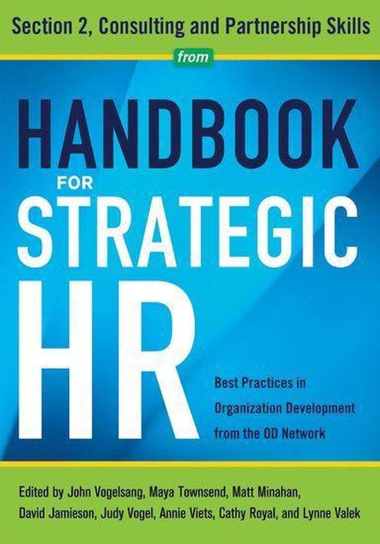 Boek cover Handbook for Strategic HR - Section 2 van Od Network (Onbekend)