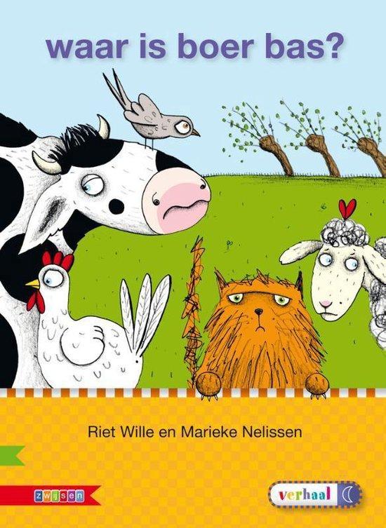 Boek cover Veilig leren lezen  -  Waar is Boer Bas? AVI M3 van Riet Wille (Hardcover)