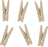 Mini Knijpers hout (20 stuks)