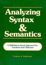 Analyzing Syntax and Semantics Textbook