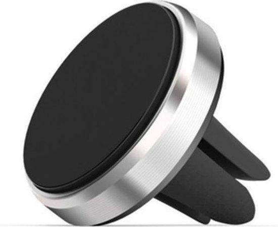 Universele Telefooon Houder Magnetisch voor in de Auto / Magneet Houder / Ventilatie Telefoonhouder / Zilver