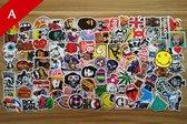 100x Skateboard stickers | Decals | Skateboard pimpen Set | Skating | Koffer | Laptop | Set 1