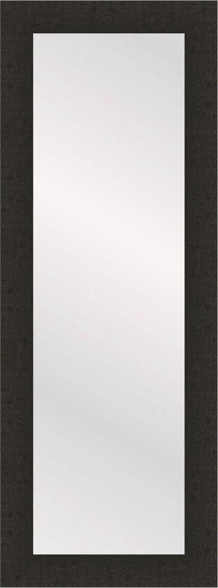 Henzo WOODSTYLE passpiegel - Spiegel - Spiegelformaat 35 x 120 cm - Donker Bruin