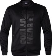 Gorilla Wear Ballinger Track Jacket - Black/Black - XL