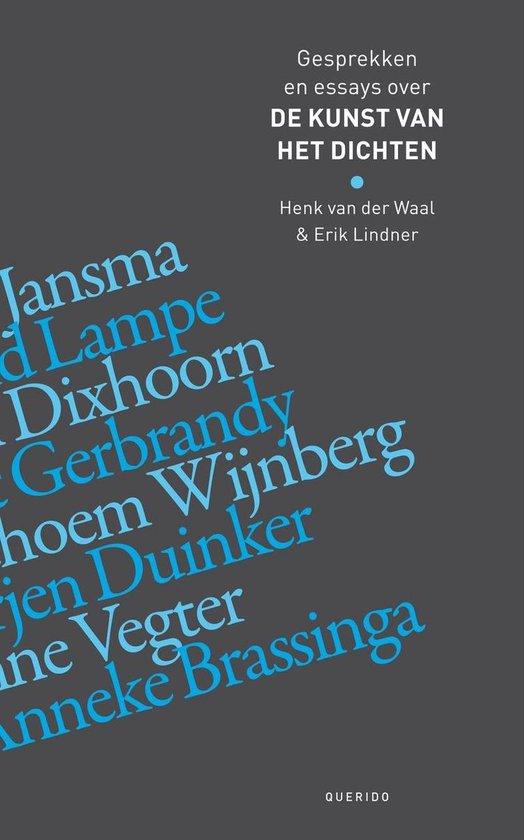De kunst van het dichten - Henk van der Waal  