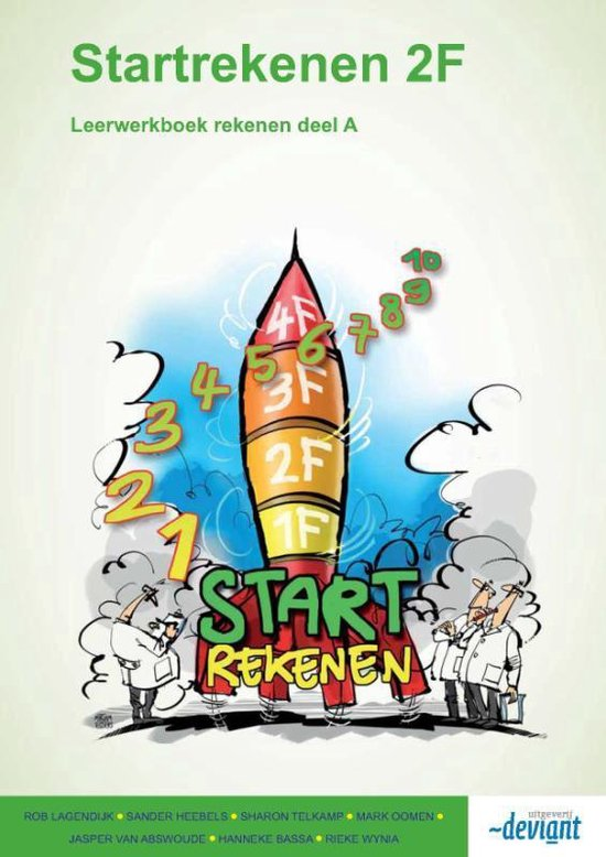 Startrekenen - Leerwerkboek rekenen - 2F - Deel A - Rob Lagendijk pdf epub