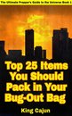 Top 25 Items You Should Pack in Your Bug-Out Bag