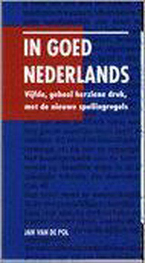 In Goed Nederlands - J.H.J. van de Pol | Fthsonline.com