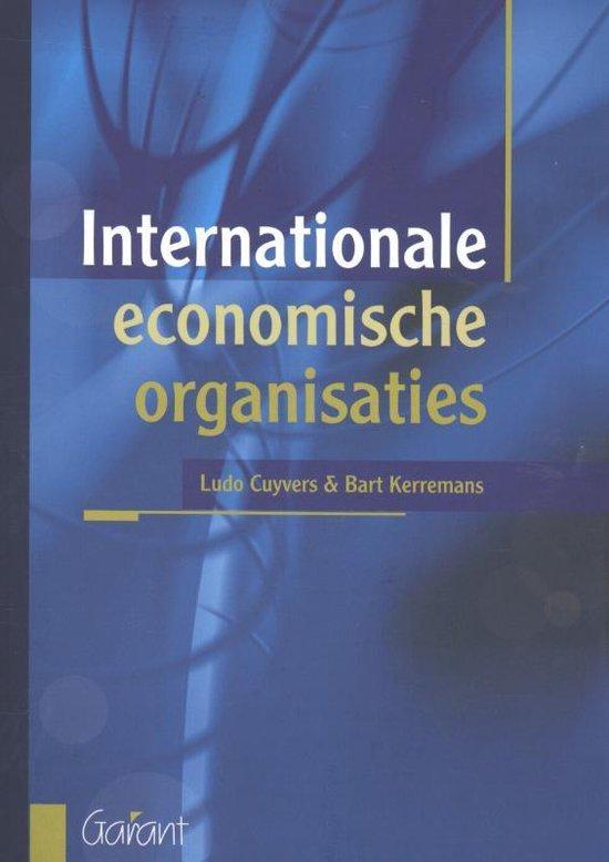 Internationale economische organisaties - Ludo Cuyvers  