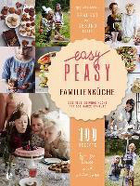 Boek cover Easy Peasy Familienküche van van den Heuvel, Claire (Hardcover)