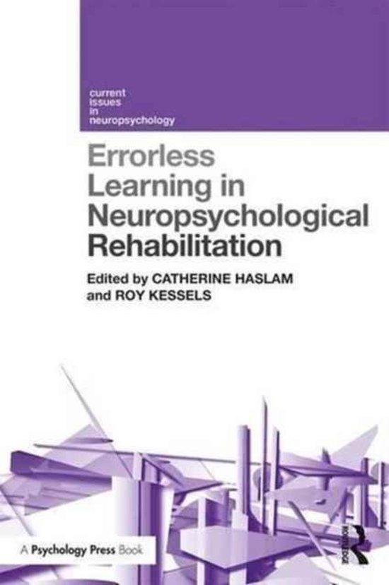 Errorless Learning in Neuropsychological Rehabilitation