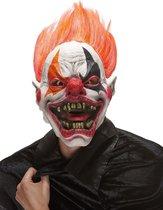"""""""Duivelse clown masker voor volwassenen Halloween  - Verkleedmasker - One size"""""""