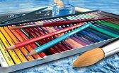 STABILO Aquacolor - Premium Aquarel Kleurpotlood - Metalen Etui Met 12 Kleuren