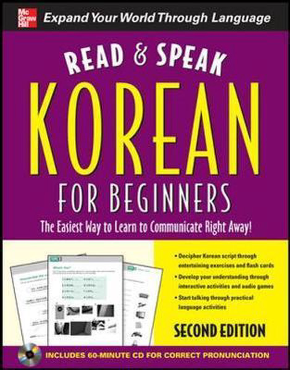 Read and Speak Korean for Beginners with Audio CD - Sunjeong Shin