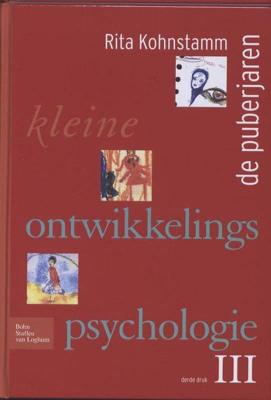 Kleine ontwikkelingspsychologie iii - R Kohnstamm  