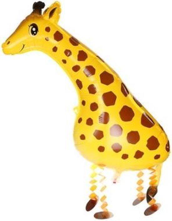 Giraffe XL Ballon - Kinderfeestje versieringen – Dieren ballonnen - Feestversieringen