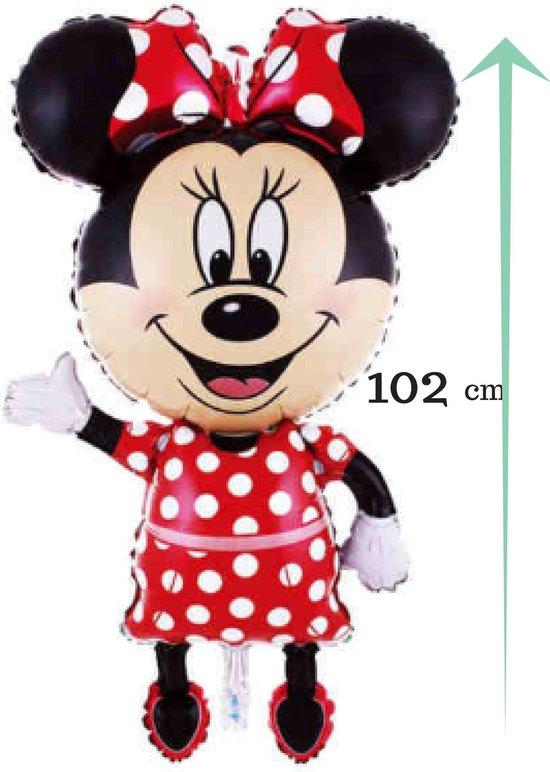 Mini mouse Ballon - 102 cm - feestdecoratie - themafeest Mickey Mouse + verrassing