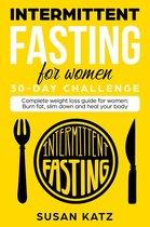 Boekomslag van 'Intermittent Fasting for Women 30-Day Challenge'