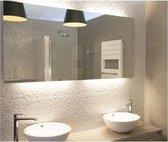 Spiegelverwarming, verwarming voor spiegels 50x50cm-50W-200W/m2