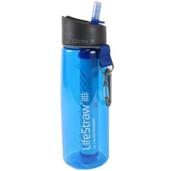 LifeStraw® drinkfles met waterfilter Go 2-stage filtration - Blauw