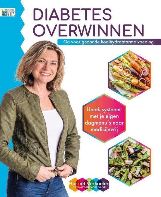 Boek cover Diabetes overwinnen van Harriet Verkoelen (Paperback)