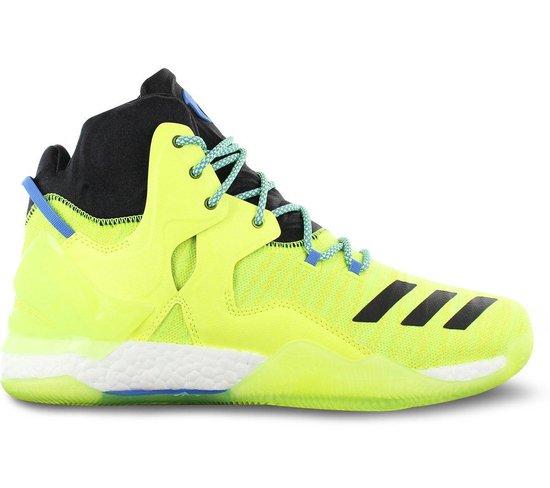 adidas Derrick D Rose 7 Primeknit AQ7215 Heren Basketbalschoenen Sportschoenen Sneaker Gelb - Maat EU 48 2/3 UK 13