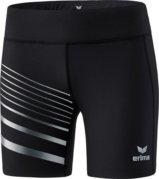 Erima Race Line 2.0 Dames Tight - Shorts  - zwart - 34