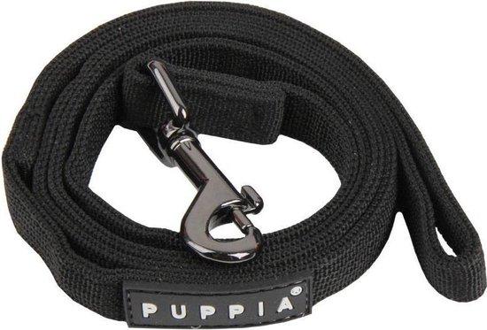 Puppia Hondenlijn - Zwart - L: 20 mm x 145 cm